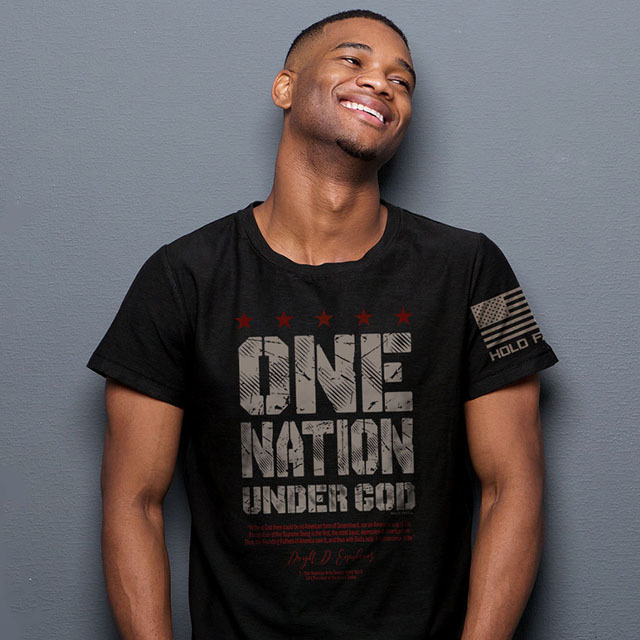 Hold Fast Christian T Shirts One Nation